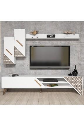 Variant Mobilya Beyaz Tv Ünitesi BR.TVTK.180.CB.01 2