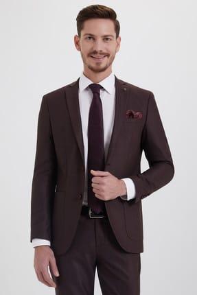 Hatemoğlu HTML Desenli Slim Fit Takım Elbise 33202018C357 2