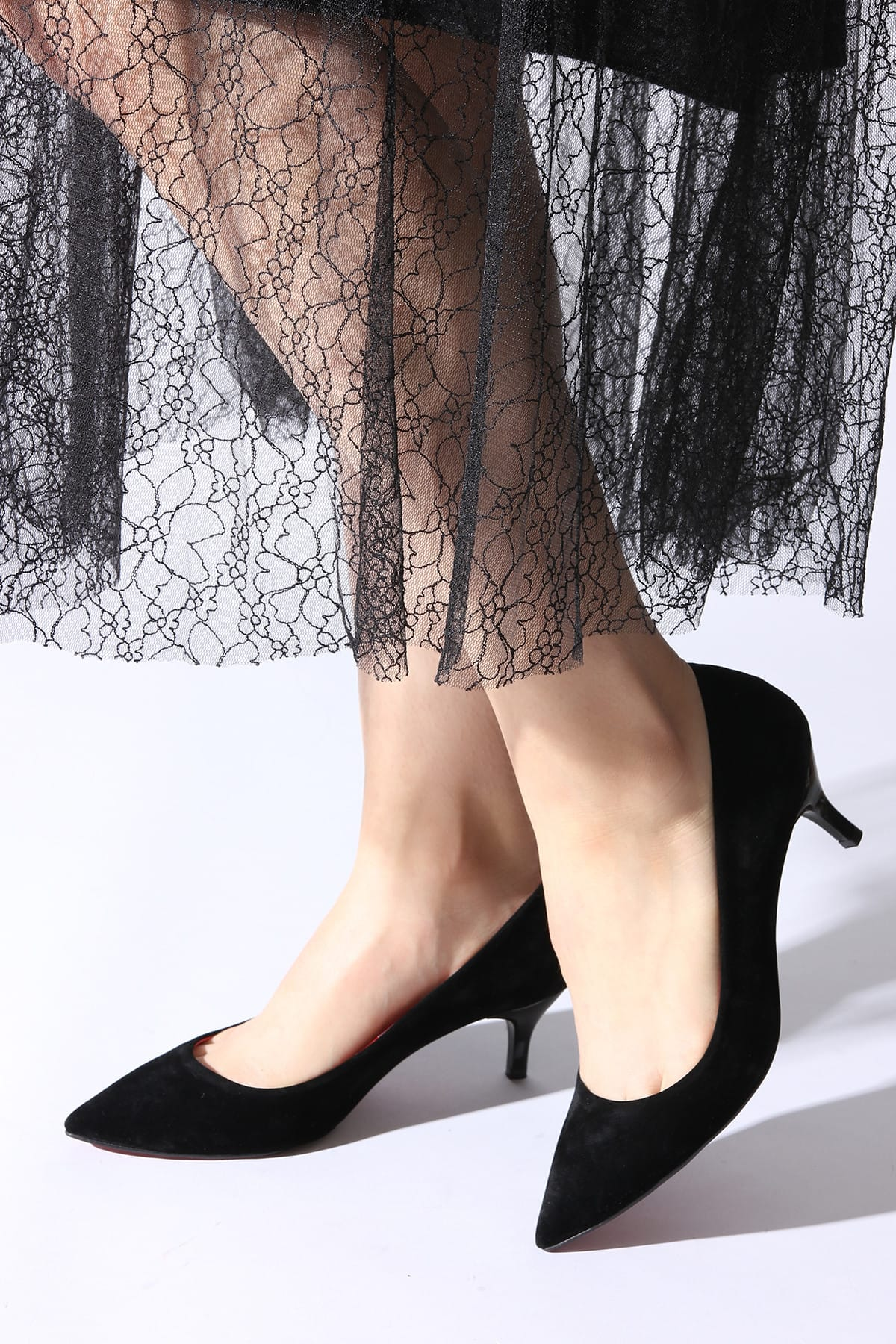 Siyah Kadın Klasik Topuklu Ayakkabı 11112014446-3-01