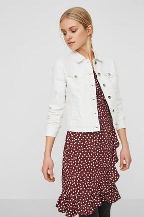Vero Moda Kadın Beyaz Trençkot 10193085 3