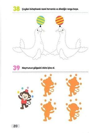 Çocuk Gezegeni 365 Zeka Geliştirici Aktivite Seti 8 Kitap 4