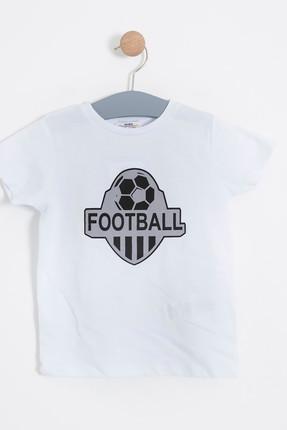 Beyaz  Erkek BebekT-Shirt   SBEECTSRT10016_00-0001 resmi