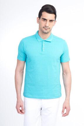 Kiğılı Erkek Mavi Polo Yaka T-Shirt - Cdee1-3 3
