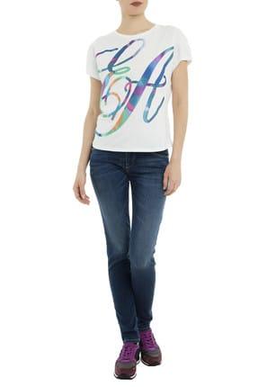 Emporio Armani Kadın T-Shirt 3G2T64 2J28Z 0101 4