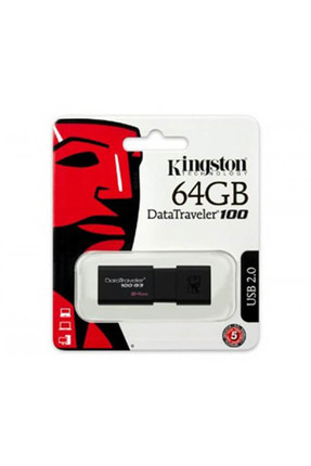 Kingston DataTraveler100 G3 64GB USB3.0 Usb Bellek (DT100G3/64GB) 0
