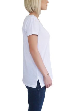 Mof Basics Kadın Beyaz T-Shirt GSYT-B 2