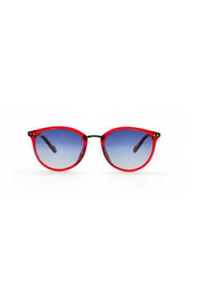 LOOKlight Olympos Jelly Red Unisex Güneş Gözlüğü LL1910 / 15 / LPU9 1