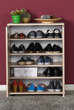 Adore Mobilya Dinamik 2 Kapaklı 5 Bölmeli Ayakkabılık SHC-220-ZR-1 Zara 1