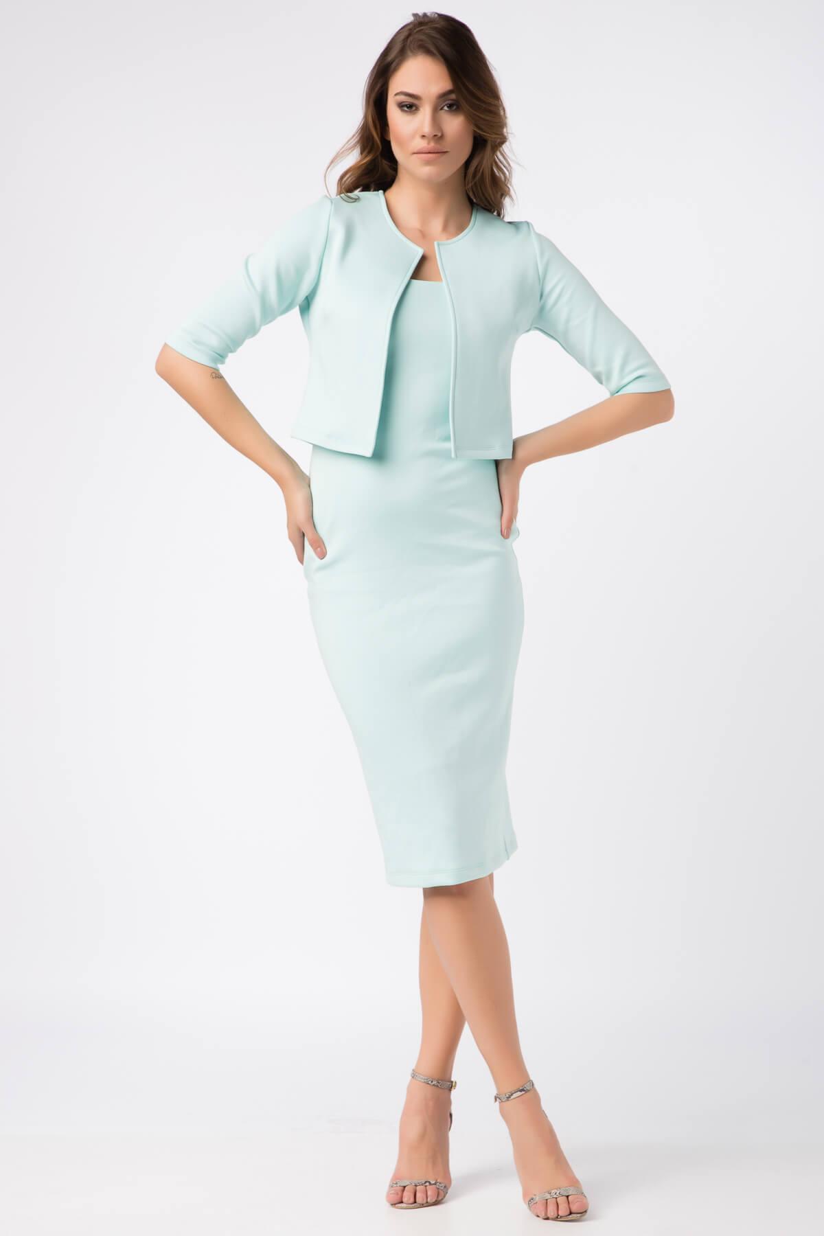 Kadın Mint Ceket 16L4725-L