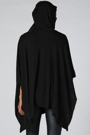 Quincey Kadın Siyah Panço HK2120 2