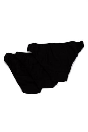 Penti Siyah 3'lü Kadın Fresh Slip Külot Paket PLFRES3S12IY 1