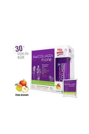 Suda Collagen Fxone Elmalı 13gr X 30 Gün ( Tip 1-2-3 10.000mg Kolajen Içerir.) 0