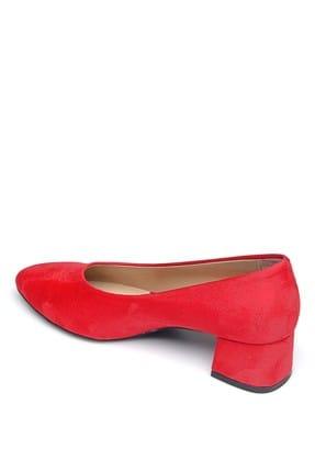 Shoes Time Kırmızı Kadın Topuklu Ayakkabı 19Y 2202 2
