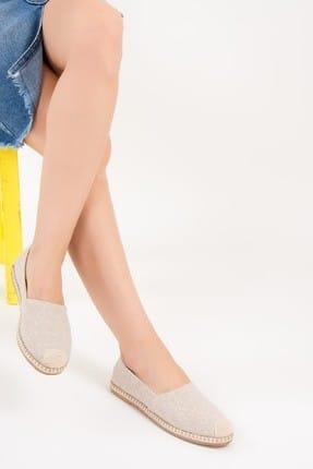 Fox Shoes Bej Kadın Ayakkabı D280250005 0