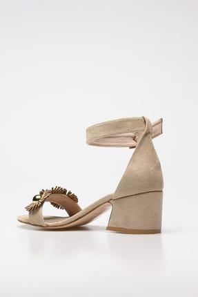 Rovigo Bej Kadın Klasik Topuklu Ayakkabı 11110389376-03 3