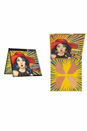 Cecile Far & Allık Paleti - Cheek Shadow 02 8698438606431 0