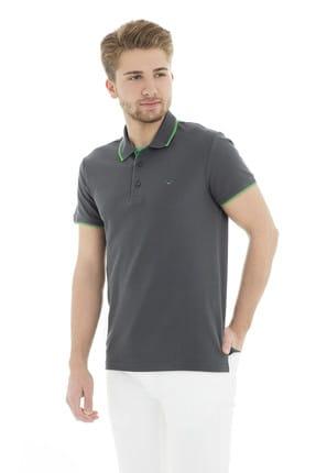 Cazador Erkek Antrasit T-Shirt - Cdr4614-19YCEEOM4614 2