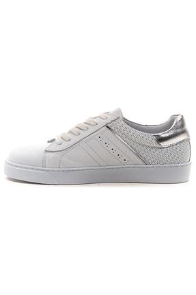 GRADA Hakiki Deri  Ince Taban Günlük Sneaker Ayakkabı 3