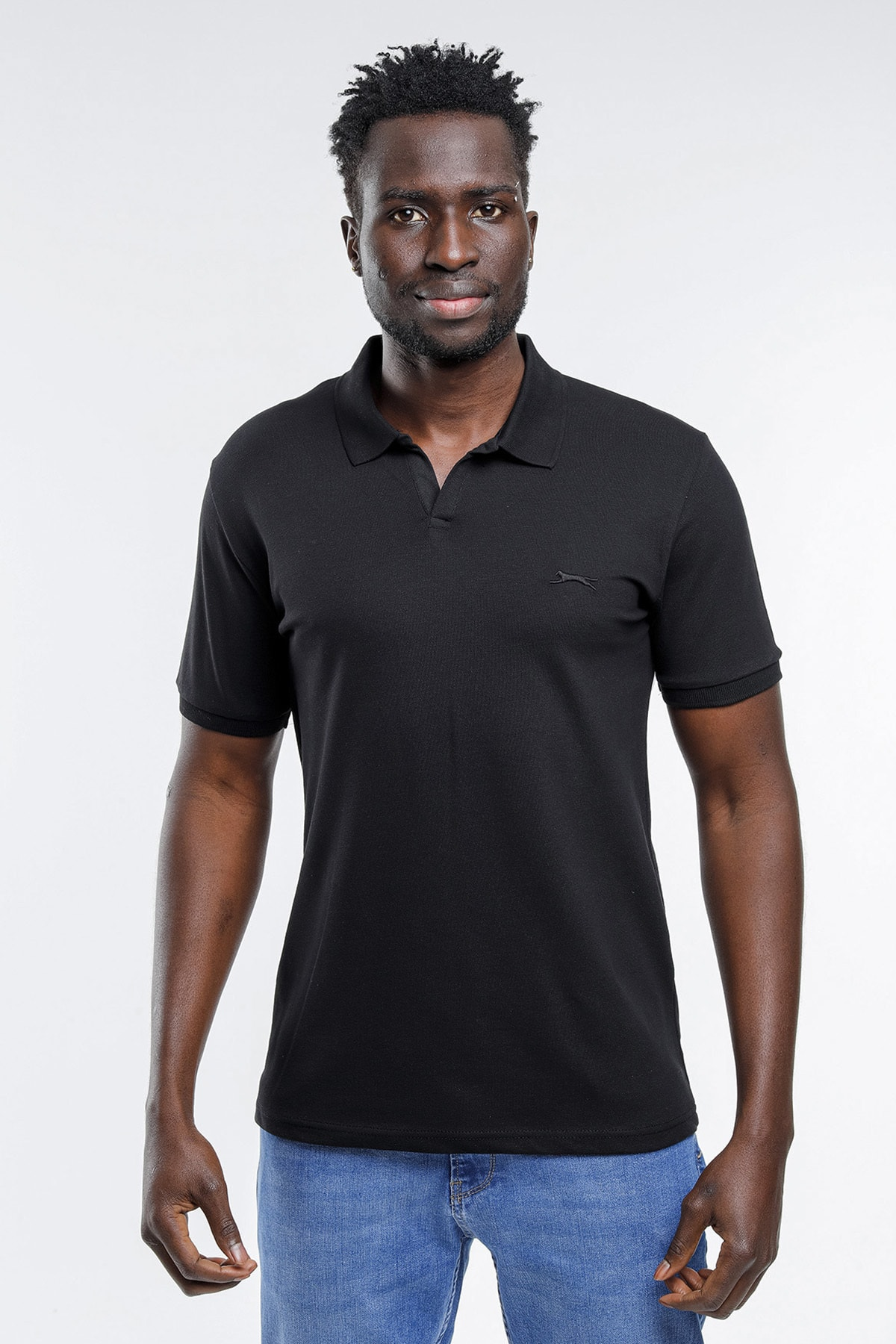 Basket Erkek T-shirt Siyah St11te101