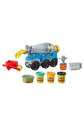 Play Doh Çalışkan Çimento Kamyonu E6891 1