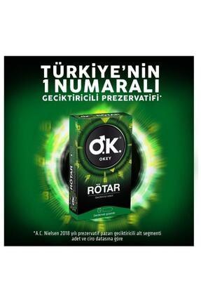 Okey O.k. Rötar Prezervatif 10'lu 3