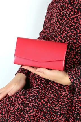 WMİLANO Kırmızı Cilt Kadın El Çantası C0201-18 0