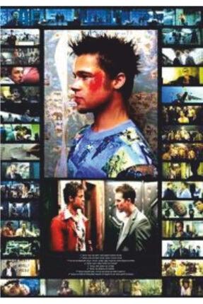 Hayat Poster Fight Club Dövüş Klübü Sinema Retro Vintage 70 Cm X 100 Dev Kuşe Poster (silindir Kolili Kargo Ile) 0