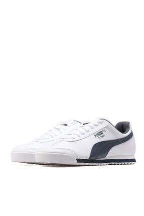 Puma ROMA BASIC Beyaz Lacivert Erkek Sneaker 100126098 2
