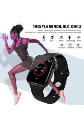 Polygold W4 Akıllı Saat Smart Watch Dokunmatikli Ekran Adım Sayar,nabız Ölçer 2