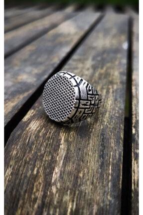 Loyal Çukur Dizi Gümüş Kaplama Erkek Yamaç Yüzüğü 1
