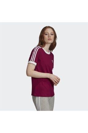 adidas Kadın Bordo Spor T-shirt 3