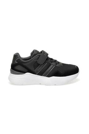 Kinetix Santa J Erkek Çocuk Cırtlı Yüksek Taban Spor Ayakkabı Siyah 1