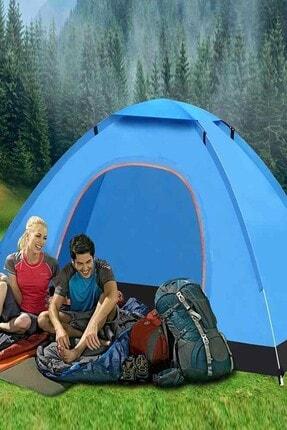 Onetick 6 Kişilik Renkli Dayanıklı Kamp Çadırı 220x250x150 2