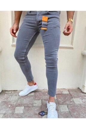 Erkek Gri Jeans TTKNN1189SFA
