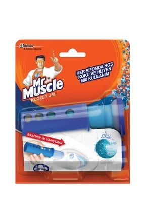 Mr. Muscle Klozet Temizleyici Jel Marine - 38 gr 0