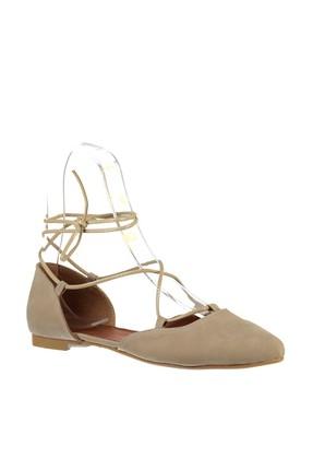 Fox Shoes Ten Kadın Babet B726047202 4
