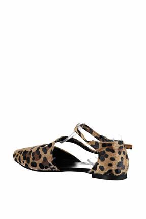 Fox Shoes Leopar Kadın Ayakkabı D726016902 2