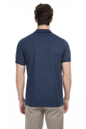 Buratti Erkek Petrol Polo Yaka T-Shirt - 43619074 1