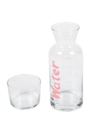 Mudo Concept Water Pembe Kapaklı Başucu Sürahisi - 700 Ml 1190882001 2