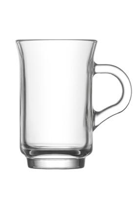 Lav Ada 6 Parça Kulplu Çay Bardağı 1