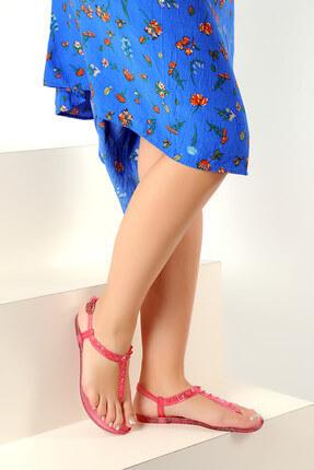 Kırmızı Kadın Sandalet A1605-17 A1605-17