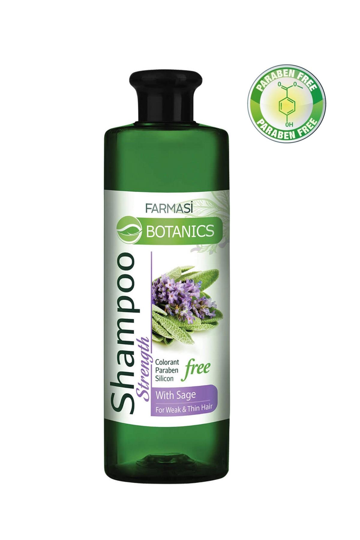 Botanics Adaçayı Özlü Güçlendirici Şampuan 500 ml 8690131105709