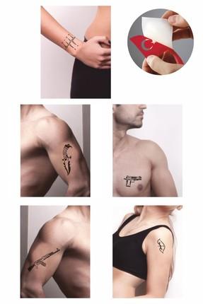 one spray tattoo savas dovmesi tattoo dovme sablonu ve kina desenleri 5 adet fiyati yorumlari trendyol