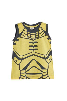 Antik Sarı Erkek Bebek T-Shirt resmi