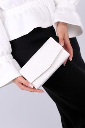 WMİLANO Beyaz Dantel Kadın El Çantası C0201-18 0