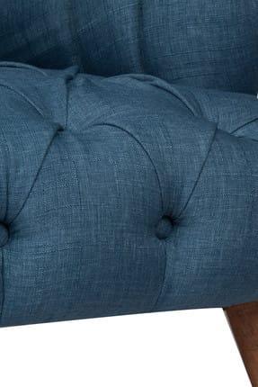 Ze10 Design West Monroe Tekli Koltuk Gece Mavisi 4