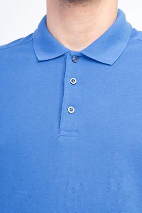 Kiğılı Erkek Mavi Polo Yaka T-Shirt - Cdee1-4 1