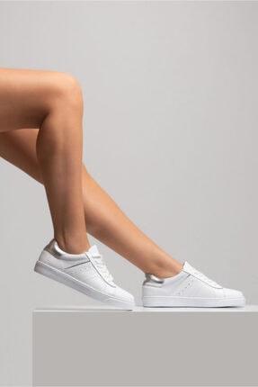 GRADA Hakiki Deri  Ince Taban Günlük Sneaker Ayakkabı 0
