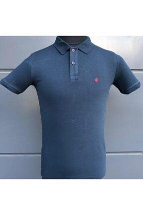 Picture of Erkek Polo Dar Kalıp Laciver T-shirt