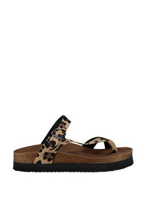 Fox Shoes Leopar Kadın Terlik B777753002 2